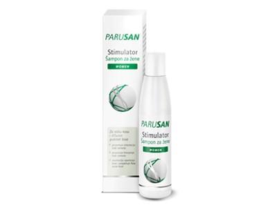 Parusan, šampon za žene