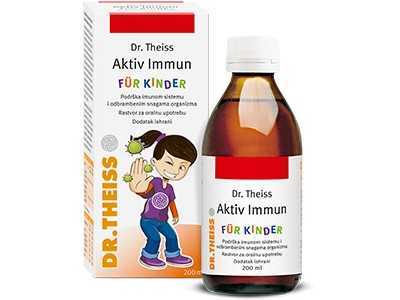 Dr Theiss Immuno kids sirup